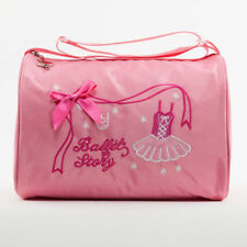 Pink Girl Kids Gymnastics Dance Ballet Swim Duffle Bag Backpack Embroidered  Tote f0e26124d8e82