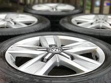 "Genuine Original VW Transporter T6 Devonport alloy wheels Continental tyres 17"""