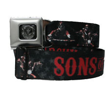 SONS of ANARCHY Logo Seat Belt Buckles Down