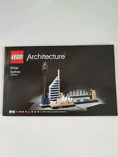 Lego architecture Sydney 21032 ☆ INSTRUCTIONS ONLY ☆ New