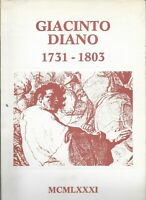 POZZUOLI GIACINTO DIANO 1731 - 1803 NELLA CHIESA DI SAN RAFFAELE ARCANGELO