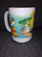 Disney Store Mug Winnie The Pooh Tigger Piglet Eeyore Christopher Robin MINT