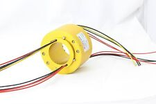 MT90185 SLIP RINGS WITH BORE SIZE 90mm,18 wires/10A each,MOFLON slip ring