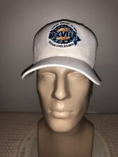 Vintage 1994 Super Bowl 28 XXVIII NFL BASEBALL HAT GEORGIA DOME ATLANTA FOOTBALL