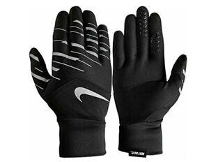 MWOT Nike Women's Dri-Fit Tempo 360 Run Gloves Black/Silver Medium