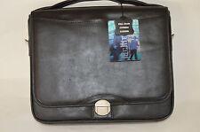 McKlein black leather horizontal standard pro tech laptop shuttle