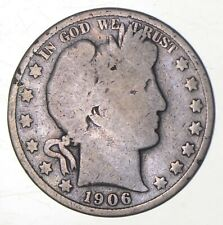 1906-S Barber Half Dollar - Charles Coin Collection *308