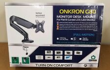 ONKRON G80 MONITOR DESK MOUNT FOR FLAT & CURVED MONITOR