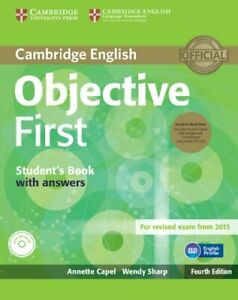 Objective First Student's Book Pack (Student's Book with Answer CD 9781107628472
