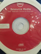 NEW Sealed 0PHXVH Dell Webcam Central for Business Resource Media DVD P/N P28J6