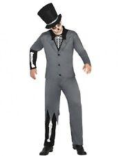 Déguisement Homme Squelette XL Costume Adulte Magicien Halloween
