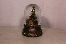 Musical Rotating Nativity Christmas Snow Globe Glitterdome