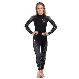 Seavenger Women's Alpha 3mm Full Wetsuit - Black Marble