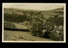 Somerset ROADWATER View used 1939 RP PPC pub by H H Hole of Williton