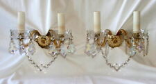 Vintage French Marie Therese Wall Chandelier x 2