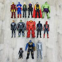"Marvel Avengers Titan Hero Series 12"" Figure Lot Of 14 Rocket Hawkeye Spider-Man"
