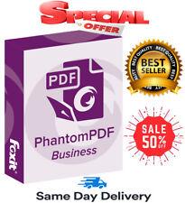 🔥Foxit PhantomPDF Business 10🔥Lifetime Activation⚡Full Version⚡Fast Delivery📧