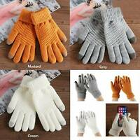 Winter Touch Screen Gloves Women Men Warm Thermal Wool Magic Gloves  > BEST<