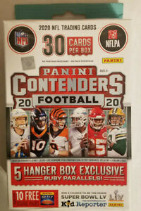 2020 Panini NFL Contenders Football Trading Cards Hanger Box Factory Sealed