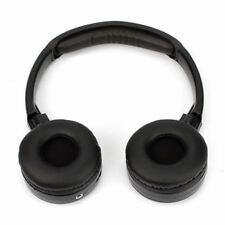 1pcs 2-channel IR Wireless Headphones Headsets for Car DVD Player & Headrest UK