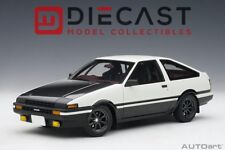 "AUTOART 78799 TOYOTA SPRINTER TRUENO (AE86) ""INITIAL D"" PROJECT D 1:18TH SCALE"