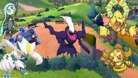 Pokemon Sword Shield HOME ✨ SHINY Hoopa Darkrai volcanion Meloetta Zeraora  ✨