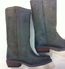 BULLBOXER Western Boots 38 Stiefel Grün Oliv HERB/SANGUE 600508 NEU