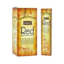 Balaji Red Premium Flora Sticks (Incense/Joss Sticks/ Agarbatti) (12pack x 15pc)