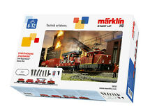 Märklin 29752 Starter Set Fire Brigade With Diesel Locomotive Henschel 500 # in