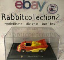 """DIE CAST """" 2000 SP SE027 - 1974 """" + TECA RIGIDA  BOX 2 SCALA 1/43"""