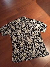 Gitman Vintage For United Arrows Sport Sleeve Made In Usa Sz S Floral Print Nwt