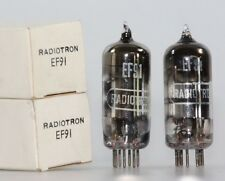2x ef91 = 6am6 = cv138 RCA Radiotron Tube TUBES NOS NIB NEW