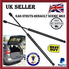 FOR RENAULT SCENIC GRAND MPV MK2 (2003-2009) GAS TAILGATE BOOT SUPPORT STRUTS UK