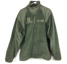 POLARTEC Fleece Jacket, Foliage Green, Level 3 Polar Thermal Military Army
