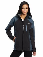 COLUMBIA Compounder II 2 Shell jacket Omni-Dry waterproof XS NWT women's BLACK