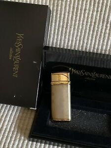 YvesSaintLaurent Collection Lighter - New in Box with storage case