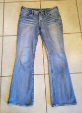 SILVER SUKI LIGHT WASH  BOOT CUT JEANS WOMEN'S SZ  28/32 GREAT CONDITION!
