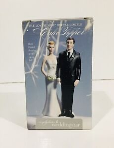 Weddingstar Bride Groom Cake Topper Hand Painted Porcelain The Love Pinch