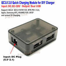 QC3.0 2.0 5V Dual USB Quick Charge Fast Charging Module DIY Phone Charger Bank
