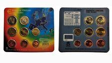 LADOBLA - Set Cartera Oficial FNMT 2003 - EUROS - SC - Juan Carlos I - España