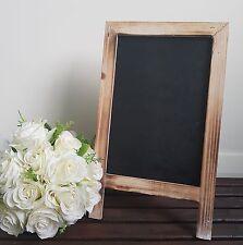 Rustic Vintage Blank Chalkboard Blackboard Easel Frame Wedding Party Decoration