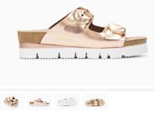 Mephisto Vandy Old Pink Leather Slide Comfort Sandal Women's sizes 35-42 NEW