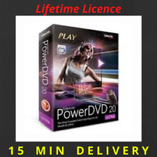 Cyberlink PowerDVD Ultra 20 Full Version ✅ Lifetime License ✅ 15 Min delivery ✅