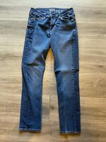 "LEVI SUPER STRETCH JEANS (Length 35"") WOMENS SIZE 6"