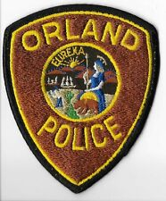 Orland Police Department, California Shoulder Patch