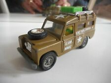 Mebetoys Land Rover in Army green on 1:43 (?)