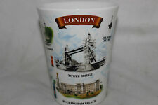 Mug Cup Tasse à café Awnhill of London Eye Buckingham Palace Bone China