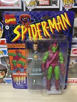Spider-Man Retro Marvel Legends 6-Inch Action Figure GREEN GOBLIN IN HAND