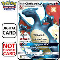 Charizard GX Shiny  SV49/68 Pokemon Card TCG Online Hidden Fates