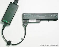 External Laptop Battery Charger for HP NC6220 NX6325 6910P, PB994A 408545 409357